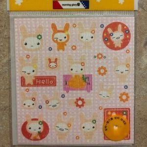 Vintage My Melody Oriental Bunny Stickers